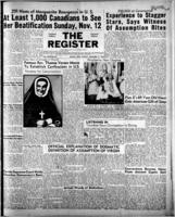National Catholic Register November 12, 1950