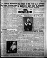 National Catholic Register November 19, 1950