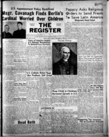 National Catholic Register November 26, 1950