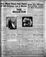 National Catholic Register December 3, 1950
