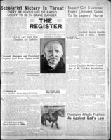 National Catholic Register January 14, 1951