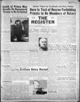 National Catholic Register January 21, 1951