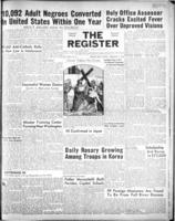 National Catholic Register February 11, 1951