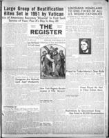 National Catholic Register February 25, 1951