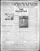National Catholic Register March 18, 1951