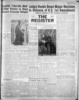 National Catholic Register April 1, 1951
