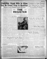 National Catholic Register April 22, 1951