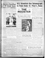 National Catholic Register April 29, 1951