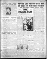 National Catholic Register May 6, 1951
