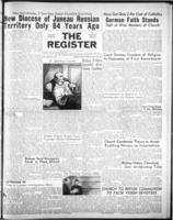 National Catholic Register July 29, 1951