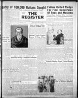 National Catholic Register October 21, 1951