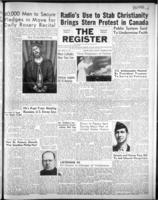 National Catholic Register October 28, 1951