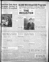 National Catholic Register Nevember 4, 1951