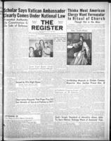 National Catholic Register November 25, 1951