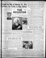 National Catholic Register December 30, 1951