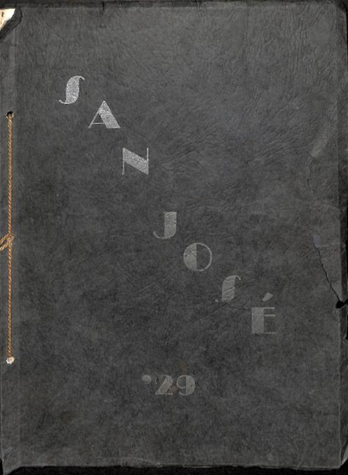 The San Jose is the yearbook for St. Joseph's High School in Denver.  This edition is the first yearbook put out by the school