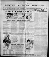 Denver Catholic Register December 20, 1906: Christmas Supplement