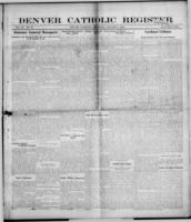 Denver Catholic Register January 9, 1908