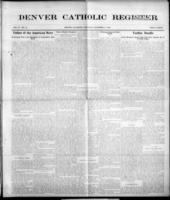 Denver Catholic Register December 3, 1908