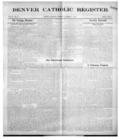 Denver Catholic Register December 31, 1908
