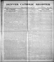 Denver Catholic Register April 15, 1909