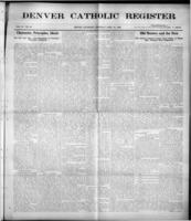 Denver Catholic Register April 22, 1909