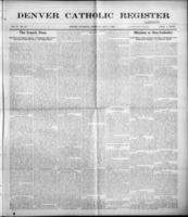 Denver Catholic Register July 1, 1909