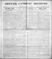 Denver Catholic Register July 22, 1909