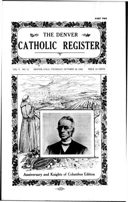 This is a special Knights of Columbus edition of the Register.