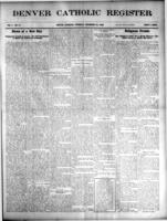 Denver Catholic Register December 30, 1909