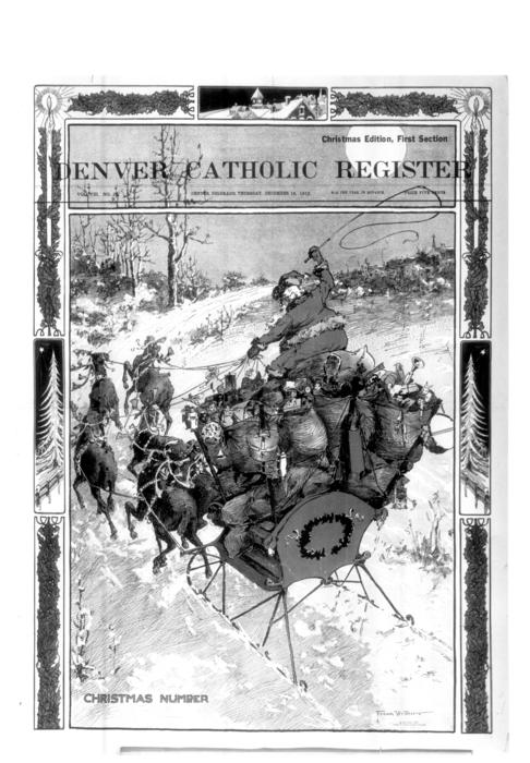 The Denver Catholic Register is the newspaper to the Diocese of Denver.  This is an expanded Christmas Edition