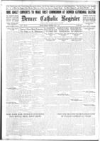 Denver Catholic Register April 1, 1915: Section 3