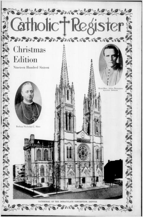 This is the special Christmas edition of the Denver Catholic Register