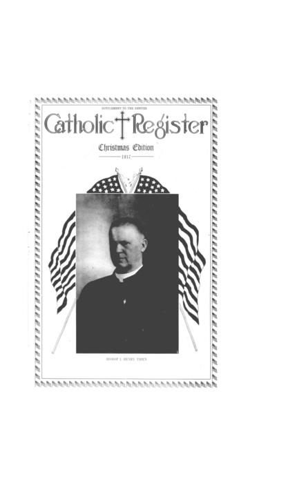 This is the special Christmas supplement to the Denver Catholic Register