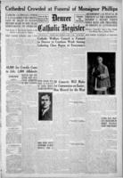 Denver Catholic Register April 1, 1920
