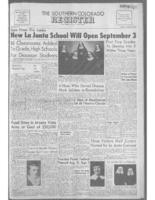 Southern Colorado Register August 30, 1957