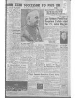 Southern Colorado Register October 31, 1958