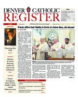 Denver Catholic Register April 15, 2009
