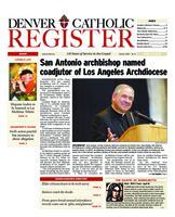 Denver Catholic Register April 14, 2010