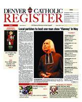 Denver Catholic Register April 21, 2010