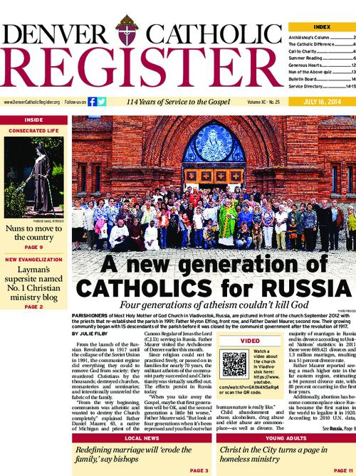 Denver Catholic Register newspaper