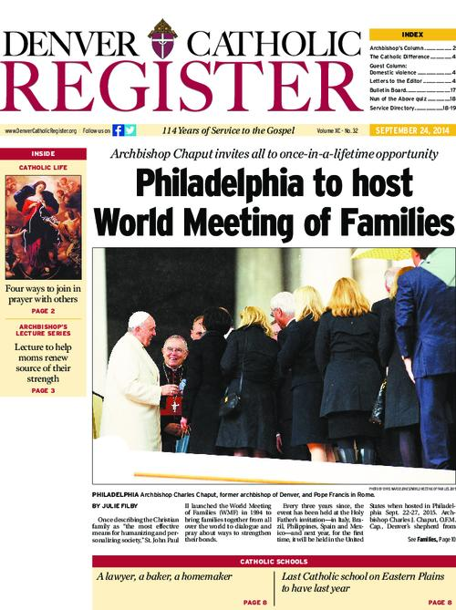 The Denver Catholic Register is the official newspaper of the Archdiocese of Denver