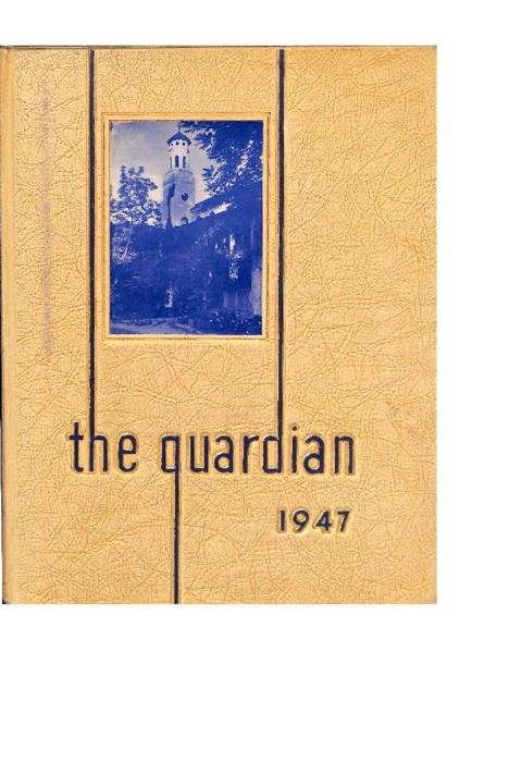 The Guardian was the yearbook for Cathedral High School