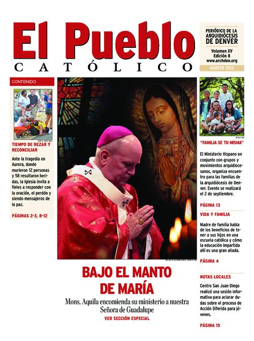 Spanish language newspaper.  Contains a special supplement on Archbishop Aquila