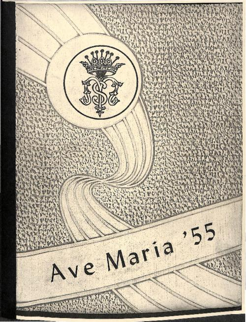 Ave Maria was the yearbook for Our Lady of Mount Carmel High School.  This edition copied for the Archives by an Alum