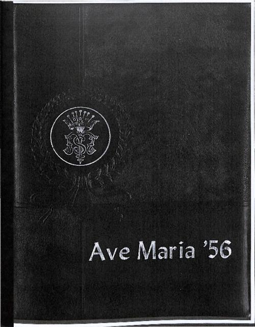 Ave Maria was the yearbook for Our Lady of Mount Carmel High School.  This volume was copied for the Archives by an Alum