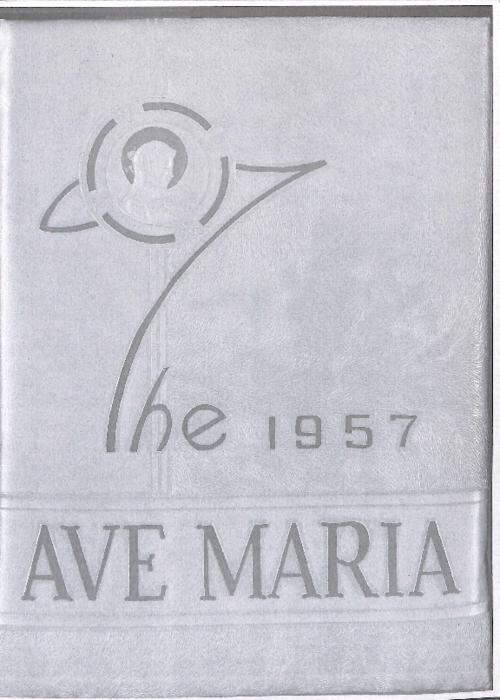 Ave Maria was the yearbook of Our Lady of Mount Carmel High School.  This volume was copied for the Archives by an Alum