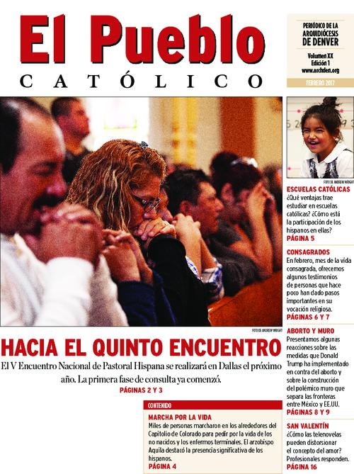 This is the Spanish language newspaper of the Archdiocese of Denver.  There is not an issue for January 2017