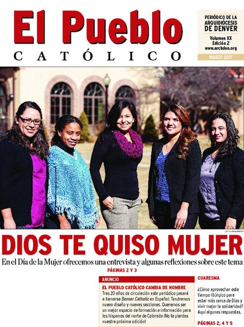This is the Spanish language newspaper of the Archdiocese of Denver