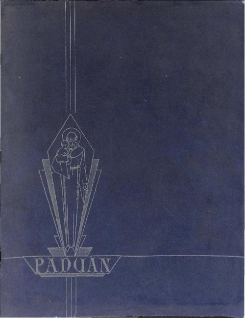 Paduan was the yearbook for St. Anthony's High School in Sterling, CO
